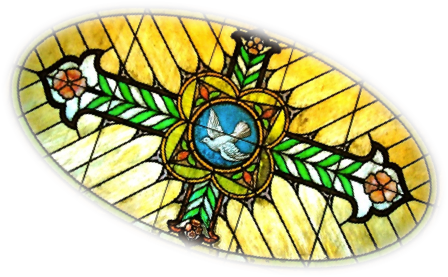 Kimball Logo, Dove Window